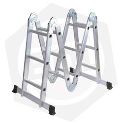 OFERTA - Escalera de Aluminio Articulada FMT - 12 Escalones