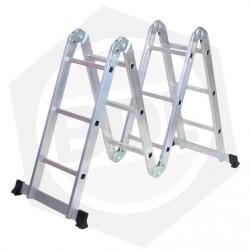 OFERTA - 15% DE DESCUENTO - Escalera de Aluminio Articulada FMT - 12 Escalones