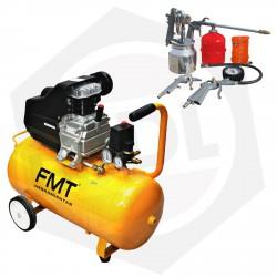 OFERTA - Compresor Directo FMT TD2550B - 50 Litros / 220 V / 2.5 HP + KIT DE REGALO!!