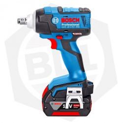 OFERTA - 10% DE DESCUENTO - Llave de Impacto Bosch GDS 18 V-EC 250 - 2 Baterías
