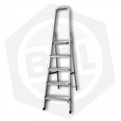 OFERTA - 15% DE DESCUENTO - Escalera de Aluminio Familiar con Arco FMT - 5 Escalones