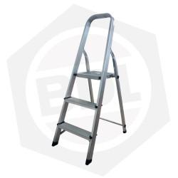 OFERTA - 15% DE DESCUENTO - Escalera de Aluminio Familiar con Arco FMT - 3 Escalones