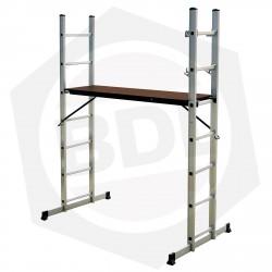 OFERTA - 20% DE DESCUENTO - Escalera de Aluminio Andamio FMT - 7 Escalones