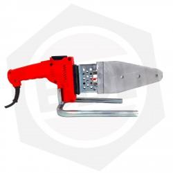 OFERTA - 15% DE DESCUENTO - Termofusionadora para Caños Gassmann GASM 800 - 800 W / Milimétrica