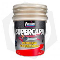 OFERTA - 15% DE DESCUENTO - Membrana Poliuretánica Supercapa Venier - BLANCA / 20 Kg
