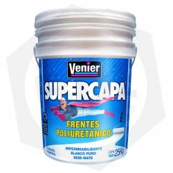 OFERTA - 15% DE DESCUENTO - Impermeabilizante Frentes Poliuretánico Venier Supercapa - BLANCO / 25 Kg