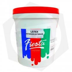 OFERTA - 10% DE DESCUENTO - Látex Interior / Exterior FIESTA / BDL - 10 Litros / Blanco Mate