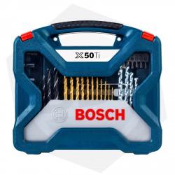 OFERTA - 15% DE DESCUENTO - Juego de Mechas y Puntas Bosch X-LINE X50TI - 50 Piezas