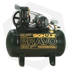 Compresor Schulz CSL-10BR - 100 Litros / 220 V