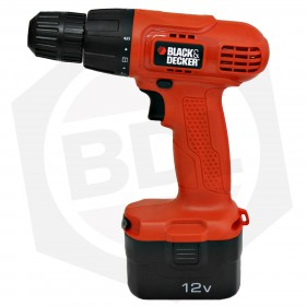 Taladro Atornillador Black & Decker CD121K - 12 V